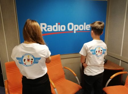 Visit at the local radio station Radio Opole in a morning live show